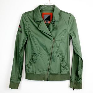 Volcom Army Green Platoon Style Jacket Small